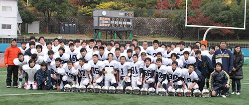 全日本大学アメリカンフットボール選手権パナソニック杯 第67回毎日甲子園ボウル オフィシャルサイト